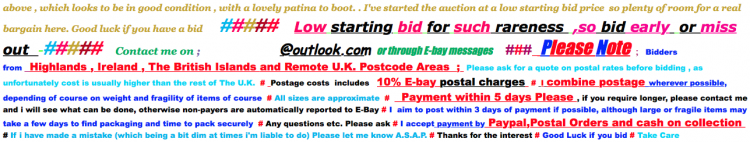 example eBay listing