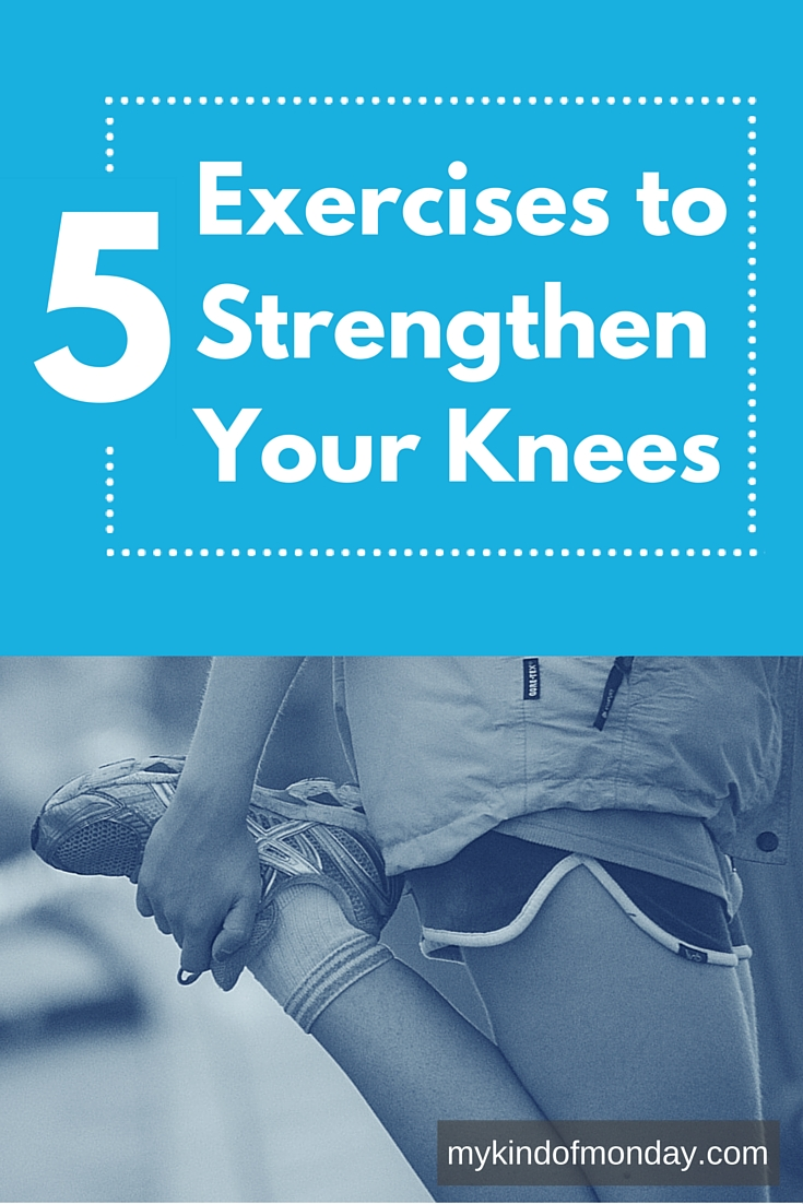 5 Simple Knee strengthening exercises you can do at home