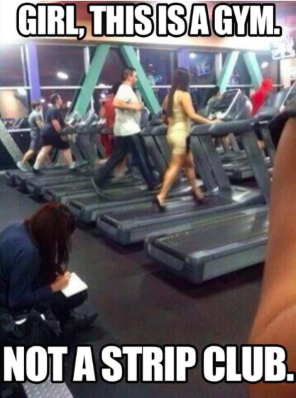 Girl, this is a gym meme