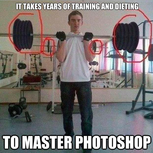 photoshop master meme the top 10 funniest gym fails memes my kind of monday