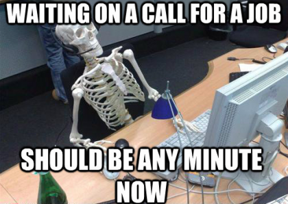 Waiting for a job...