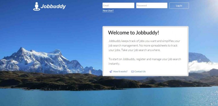 Jobbuddy homepage