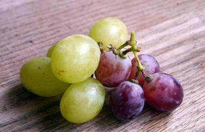 Grapes make a tasty treat when frozen