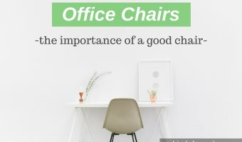 Office Chairs: Why Owning A Good Chair Matters