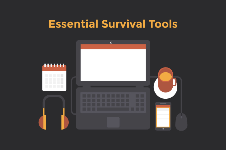 Essential survival tools for working at home